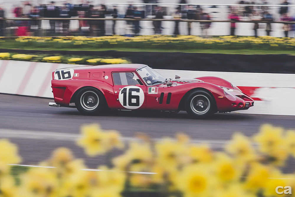 Ferrari 250 breadvan rounds chicane