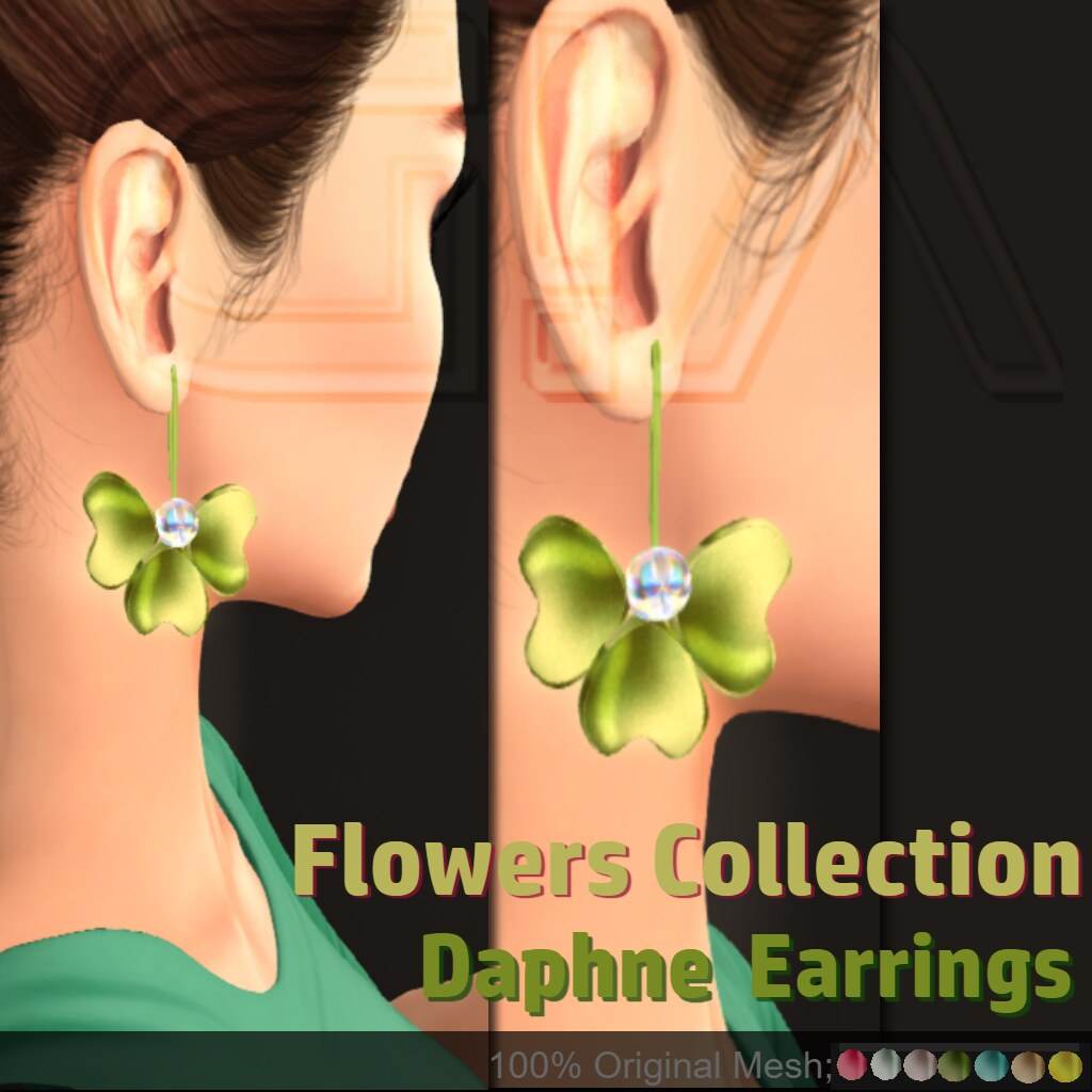 Daphne Earrings Vendor - TeleportHub.com Live!