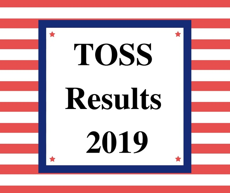 TOSS Results 2019