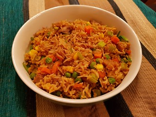 Sweet and Smoky Fried Rice with Upton's Sweet and Smoky Jackfruit