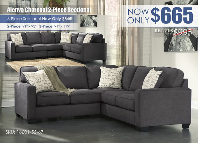 Alenya Charcoal 2 Piece Sectional w3 piece insert_16601-55-67