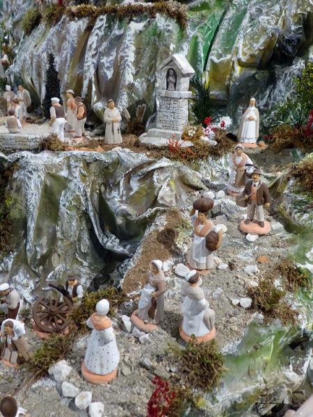 le village des santons en Provence