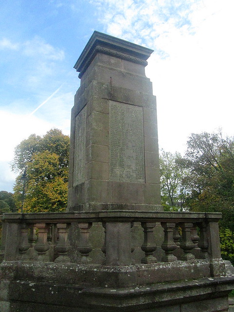 Jedburgh War Memorial Closer View