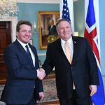 Photos of U.S. Secretary of State Michael R. Pompeo and State Department leadership in Washington, D.C., during the month of January 2019.