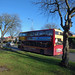11C Outer Circle yellow livery bus upgrade - Lordswood Road, Bearwood