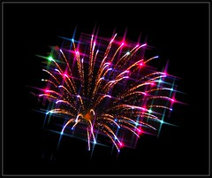 Sparkling Fireworks from 2015 Olympus In-Camera Edit
