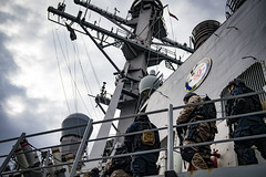 USS Donald Cook exercise with Georgian Coast Guard
