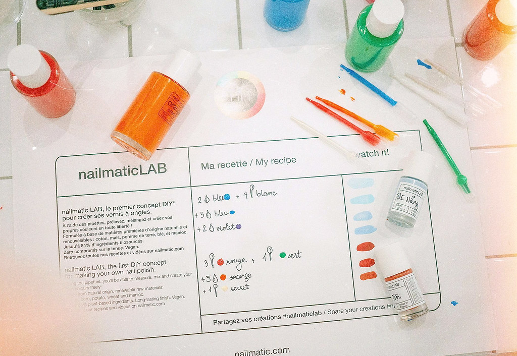 Nailmatic LAB experience