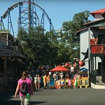 Six Flags Over Texas 22 minutes drive to the east of North Texas Smiles Pediatric Dentistry & Orthodontics Fort Worth TX