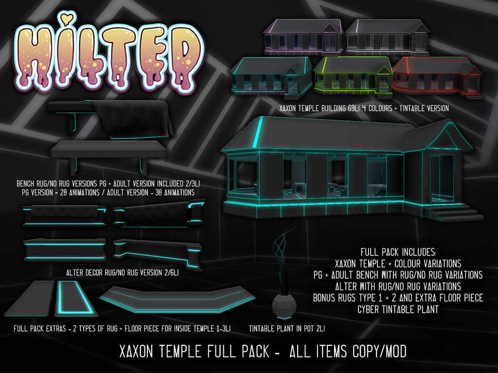 HILTED – Xaxon Temple FULL PACK