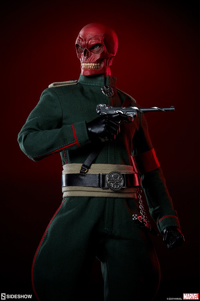 九頭蛇萬歲! Sideshow Collectibles Marvel Comics【紅骷髏】Red Skull 1/6 比例人偶作品 普通版/EX版