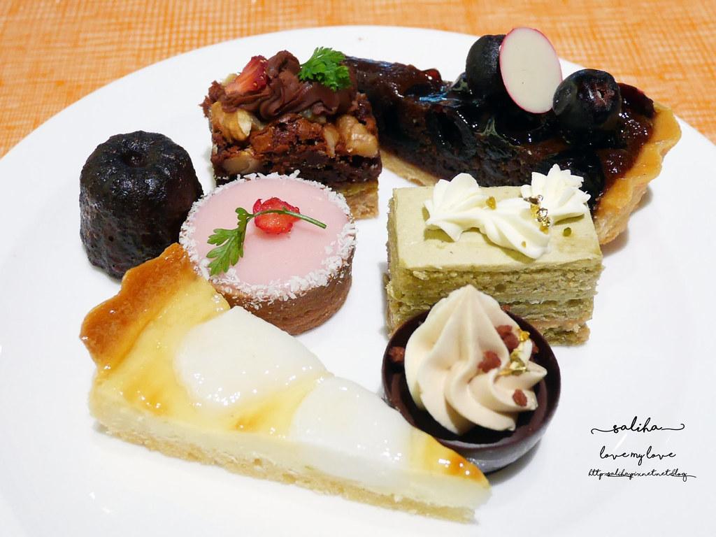台北美麗華附近餐廳飯店下午茶吃到飽美福彩匯自助餐 (5)