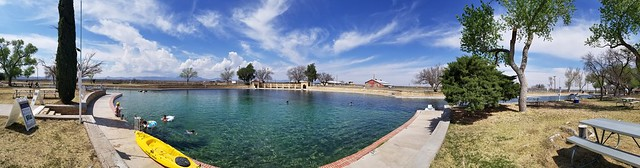 the pool at Balmorhea SP
