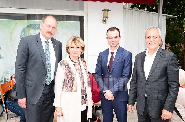 Wolfgang Wessel, Ursula Grenau, Rifat Çetinkaya, Abdullah Karaoğlu.