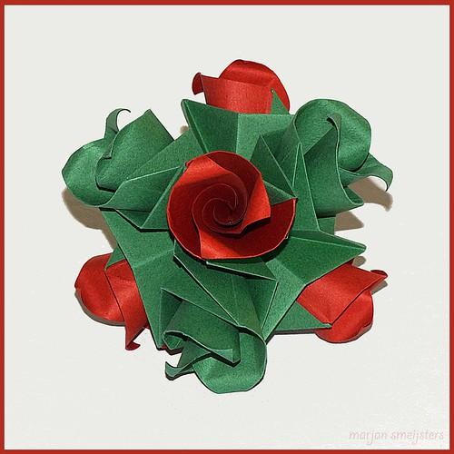 Origami Curly Flower (Krystyna Burczyk)