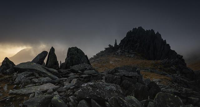Glyderau Gloom - Snowdonia - Wales