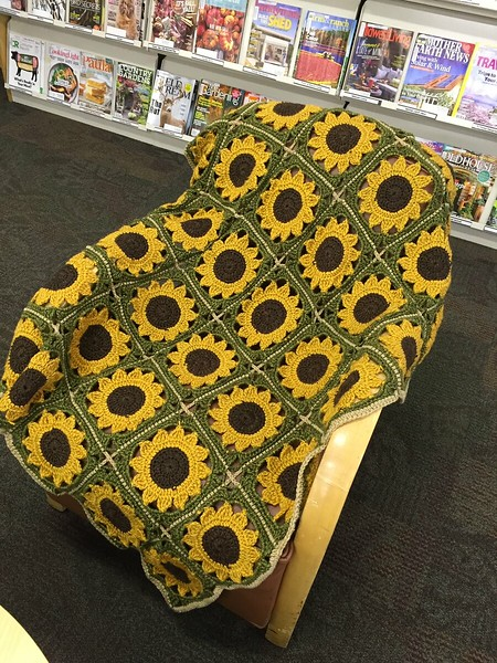 Sue's Sunflower Blanket