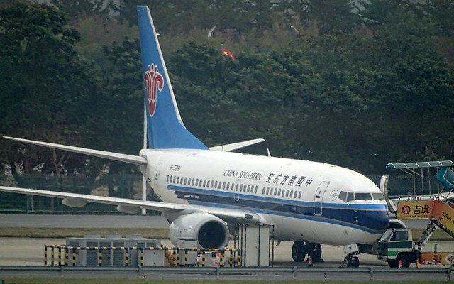 China Southern Airlines Boeing 737-700 B-5281