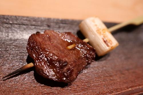 焼物 和牛ハラミねぎま串
