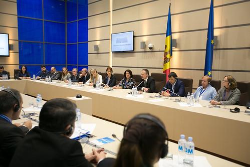 23.02.2019 Întrevedere Andrian Candu - reprezentanții autorităților electorale din 15 țări
