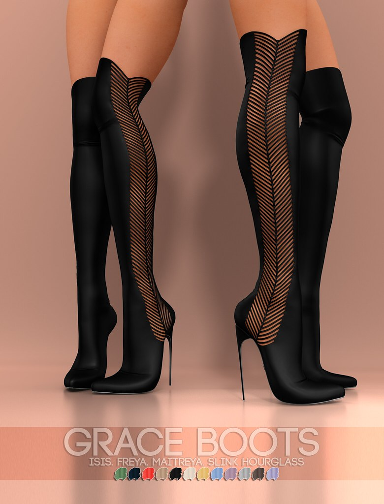 Pure Poison – Grace Boots AD