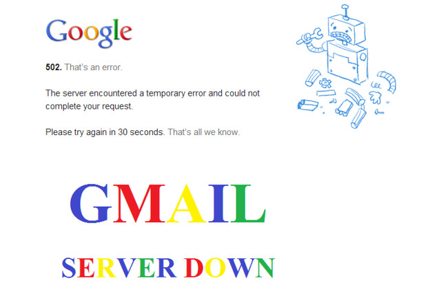 Gmail not working 2019