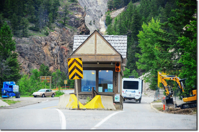 Kootenay National Park Entrance