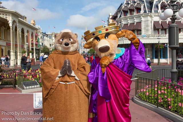 Meeting Friar Tuck and Prince John