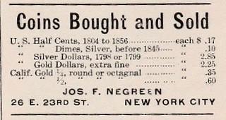 Negreen ad Phil Stamp News, 2, N1, 4_1_1911