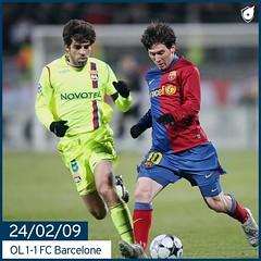 Ligue des champions : Lyon vs Barcelone