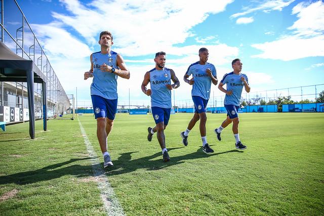 Treino Grêmio 19/02/19