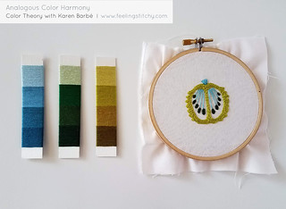 Project a Month: Color Theory with Karen Barbé | by floresita
