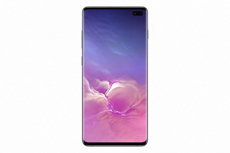 Samsung Galaxy S10+ - Ceramic Black - Front