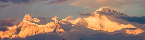 The Annapurnas from Pokhara