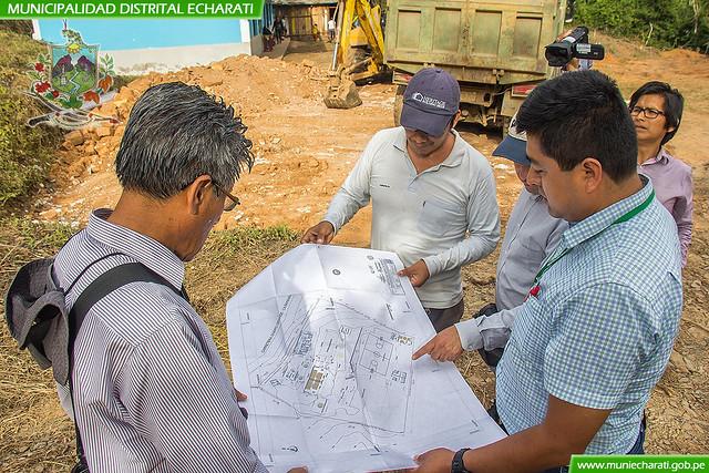 Se Inició con la Construcción de Moderna Infraestructura Educativa en Comunidad de Chapo Grande Zonal Palma Real