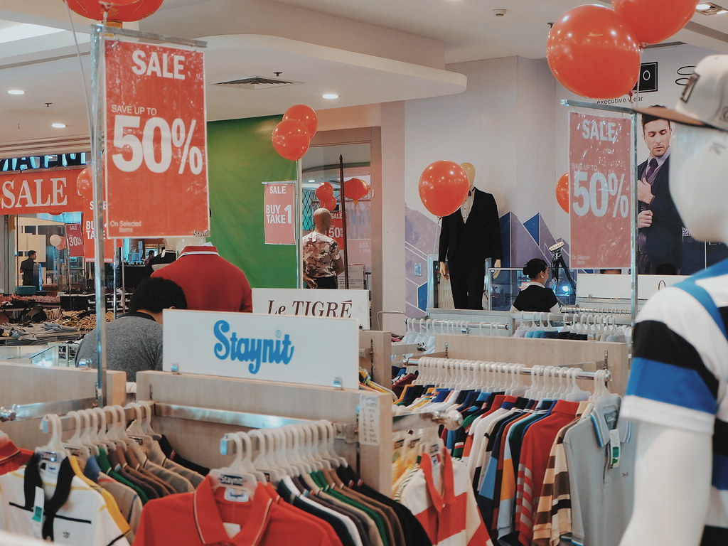 Fisher Mall Anniversary Sale: Up to 80% Discount! (until February 3, 2019)