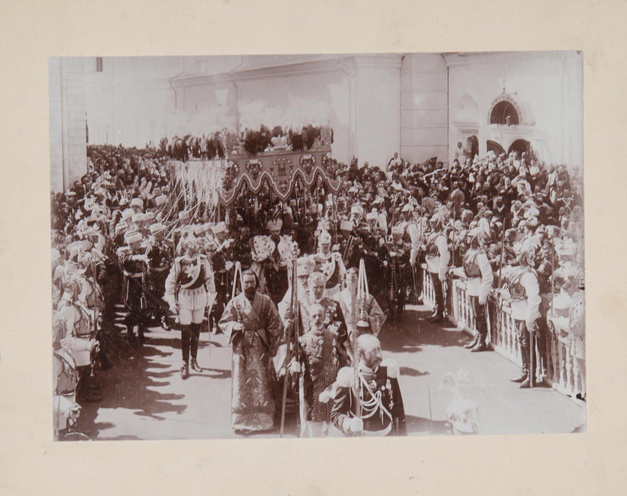 1896. Коронация императора Николая II