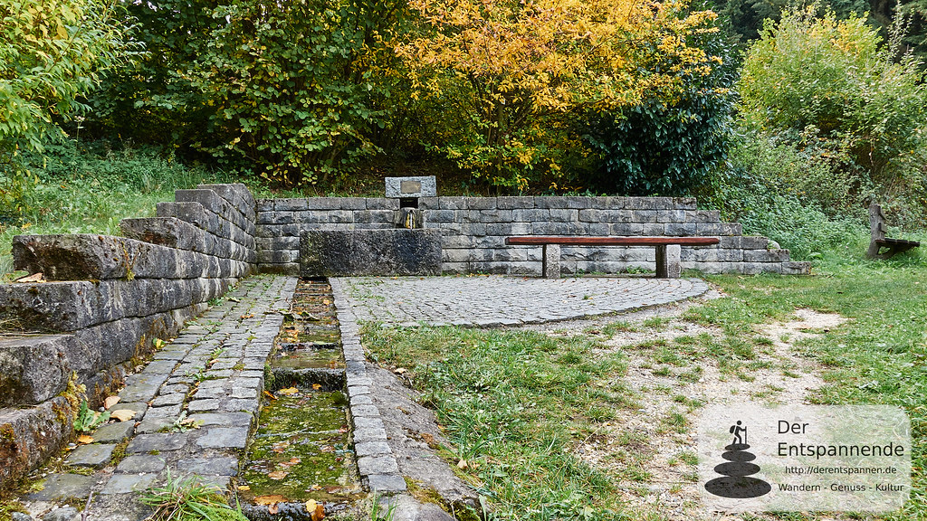 Römerbrunnen - wiedererstellt 2003. Schwarzwaldverein Stockach