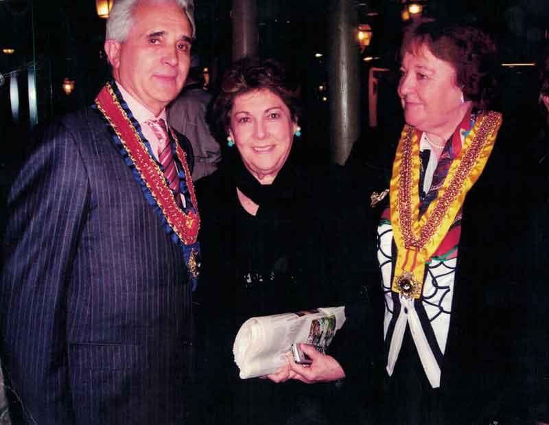 2003-Gran Collar de la Orden de St. Ettien.