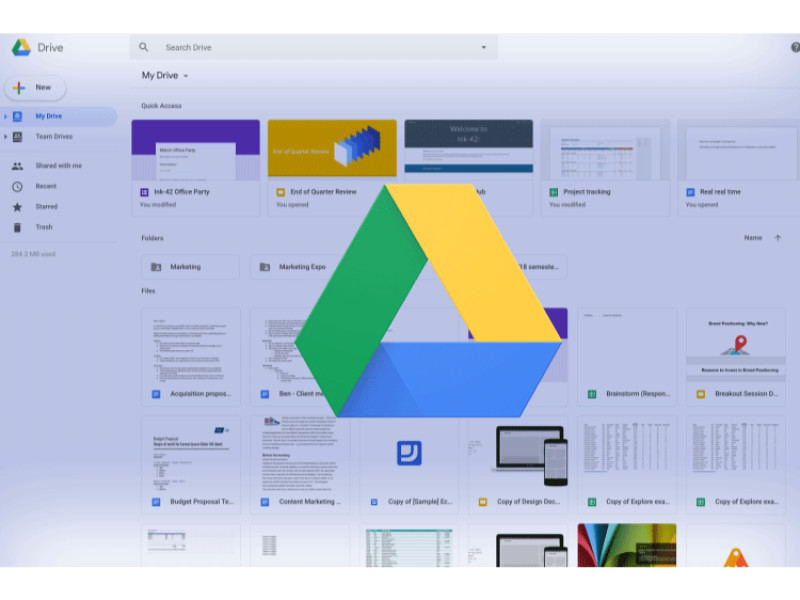 Google Drive On the Web Gets a Gmail Like Makeover