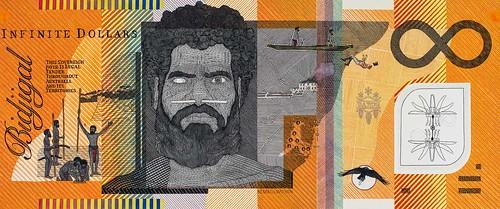 Blood Money Infinite Dollar Note