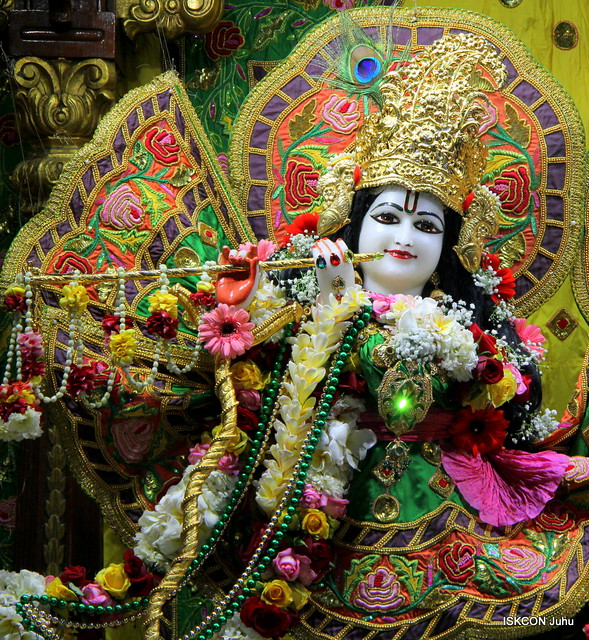 11th Feb 2019 Sringar Aarti Darshan ISKCON Juhu