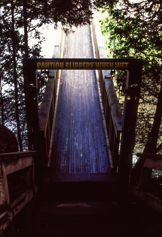 South Side of the Hanging Bridge