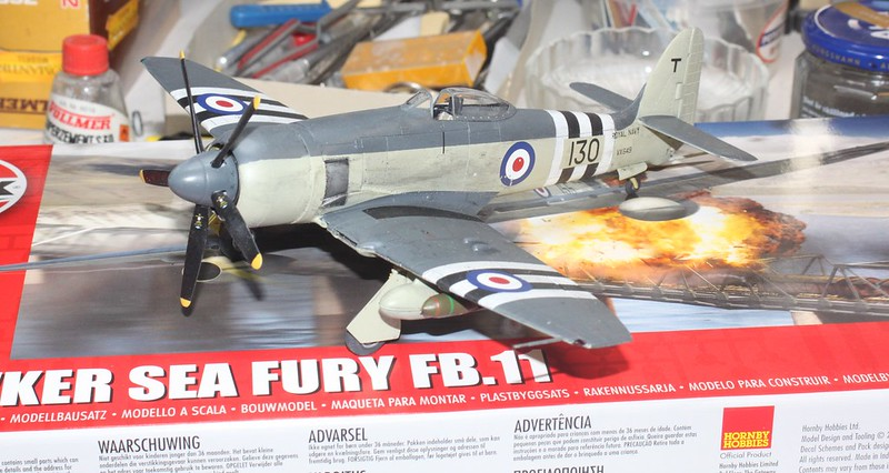 Hawker Sea Fury FB.11, Airfix 1/48 - Sida 5 46413379222_54d41d5b61_c