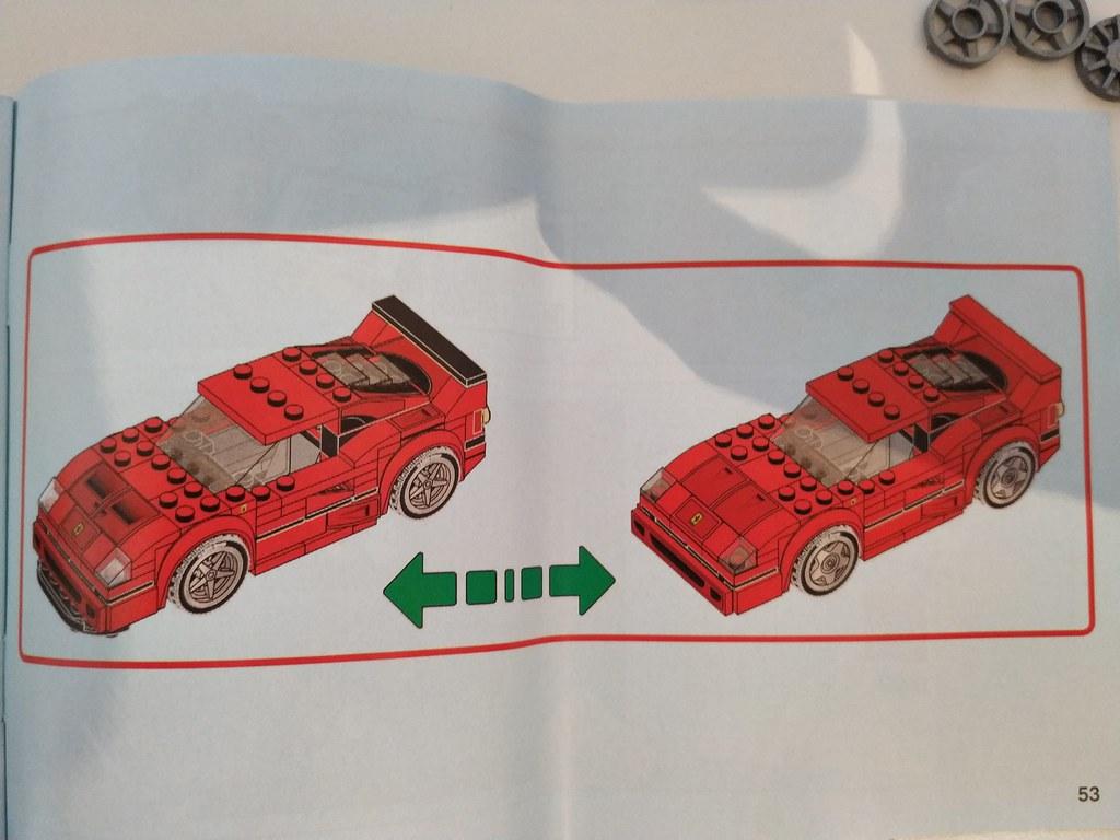 ThebrickReview: 75890 Ferrari F40 Competizione 46444702965_856a23a5df_b