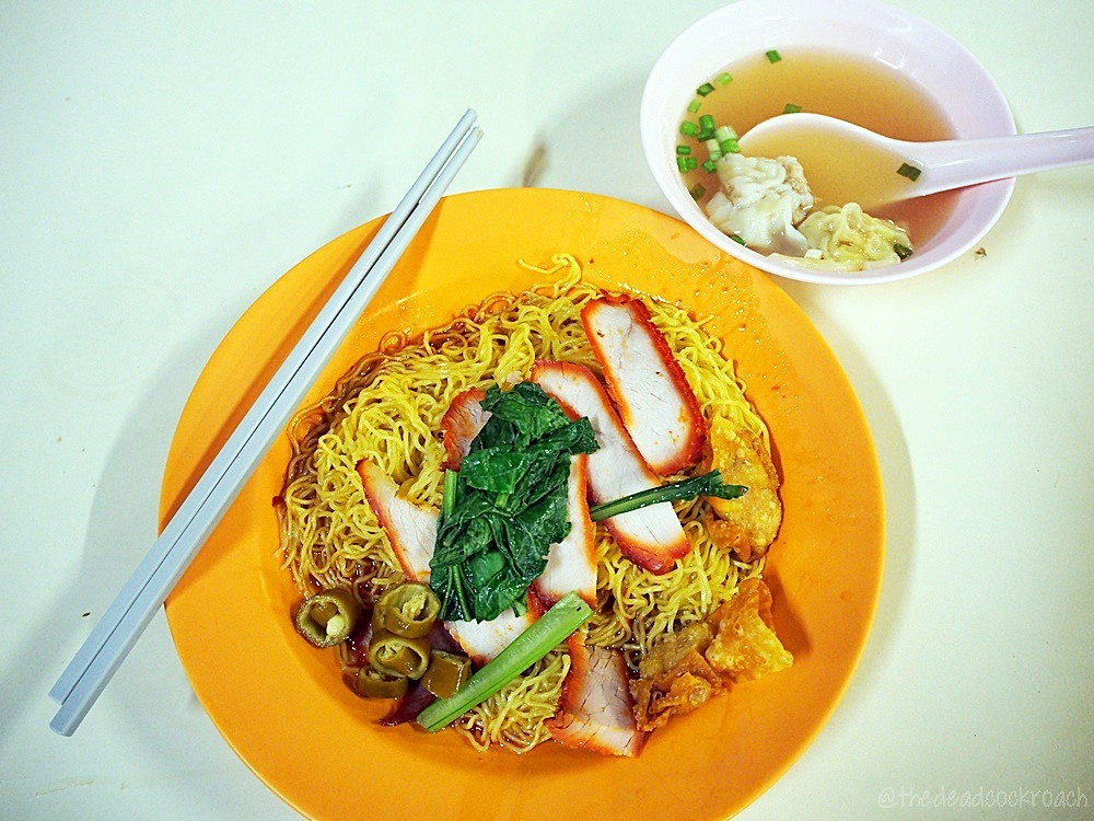 food review,food,review,singapore,tanglin halt, tanglin halt food centre, tian xiang wanton noodle,wanton noodle,天香雲吞麵,雲吞麵,wanton mee