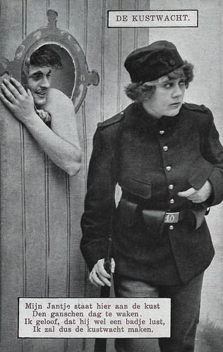 Annie Bos in Toffe jongens onder de mobilisatie (deel 1) (1914)