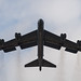 A B-52 Stratofortress ascends during Global Thunder 19 at Barksdale Air Force Base, La., Oct. 31, 2018. Global Thunder is a globally integrated exercise that provides training opportunities that assess all U.S. Strategic Command (USSTRATCOM) mission areas and joint and field training operational readiness, with a specific focus on nuclear readiness. USSTRATCOM has global responsibilities assigned through the Unified Command Plan that includes strategic deterrence, nuclear operations, space operations, joint electromagnetic spectrum operations, global strike, missile defense, and analysis and targeting. (U.S. Air Force photo by Airman 1st Class Tessa B. Corrick)
