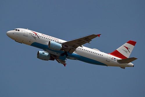 """Mühlviertel"" Austrian Airlines OE-LBU Airbus A320-214 cn/1478 @ LOWW / VIE 21-06-2018"