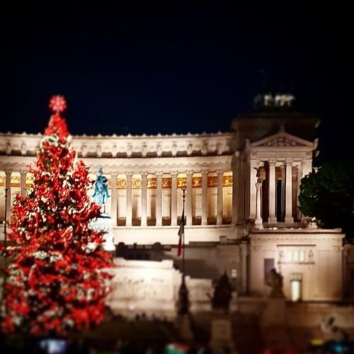 Roma: Natale a Piazza Venezia